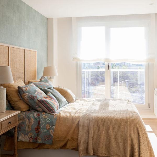 Interiorismo, Reformas de casa en Bizkaia. Dormitorio cálido.