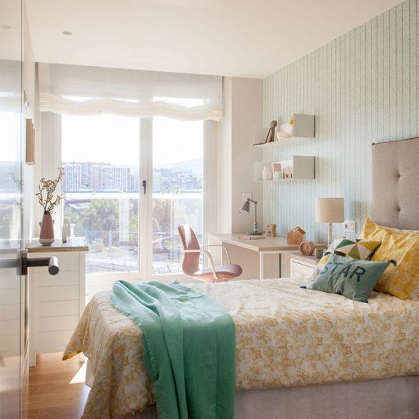 Interiorismo, Reformas de casa en Bizkaia. Habitación luminosa